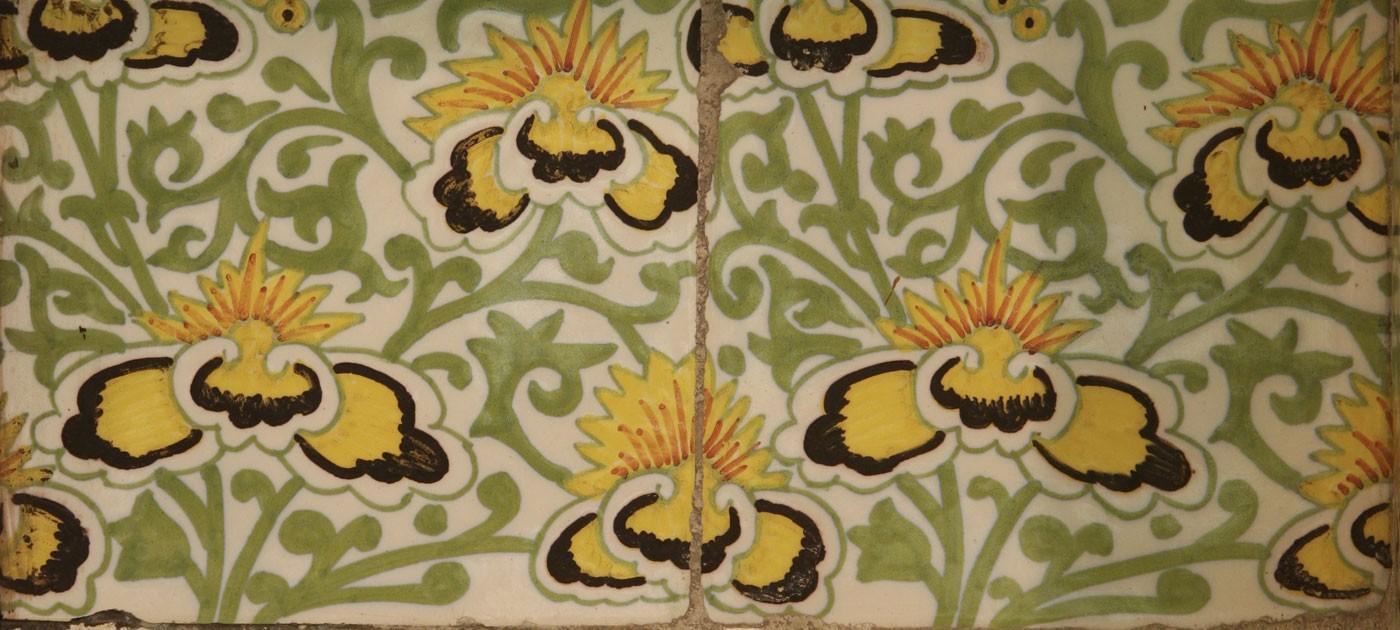 green room tiles