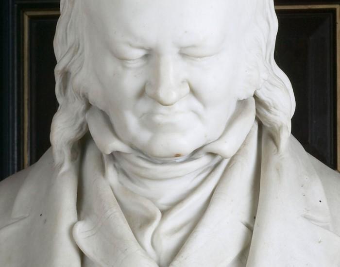 John Landseer bust statue