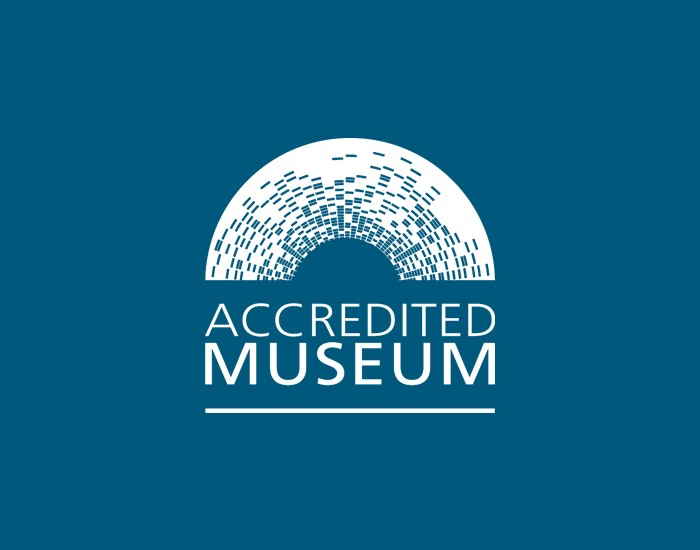 logo accredited museum