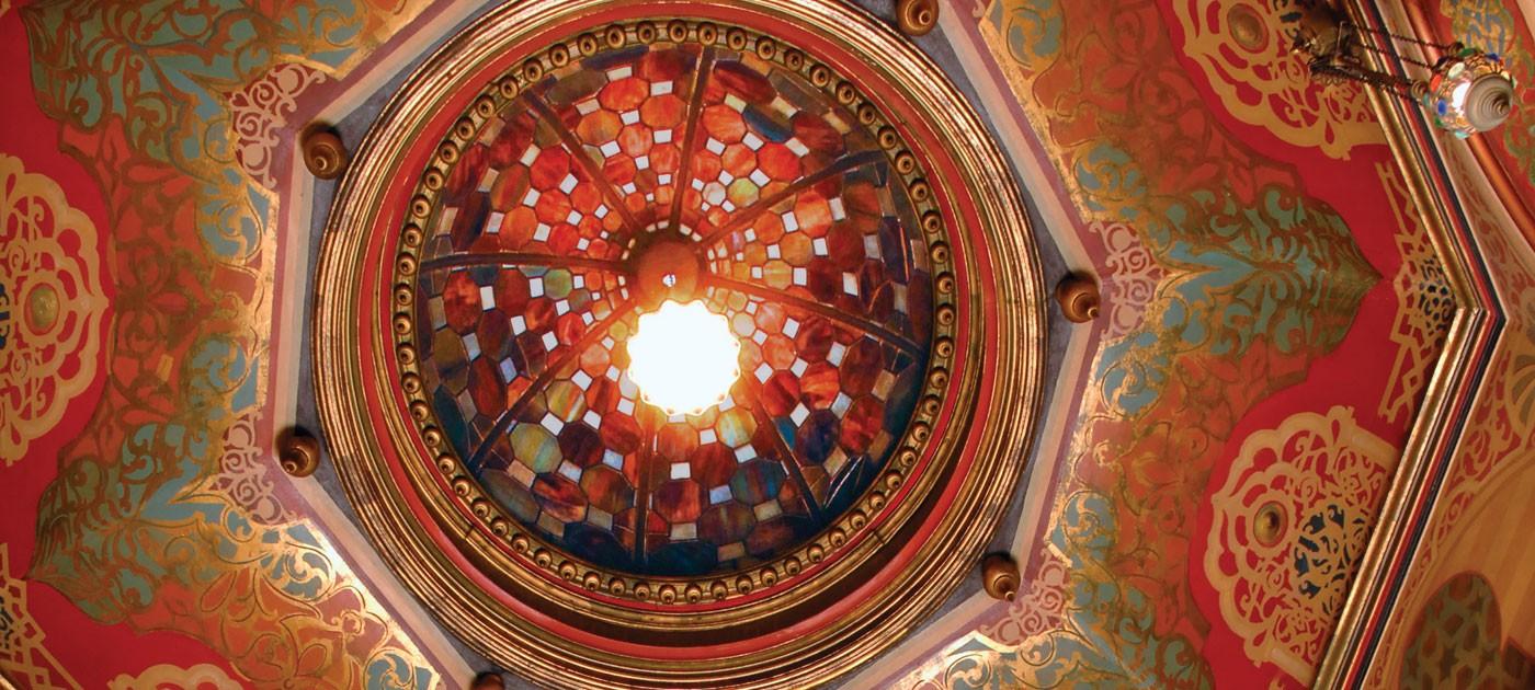 moorish alcove ceiling
