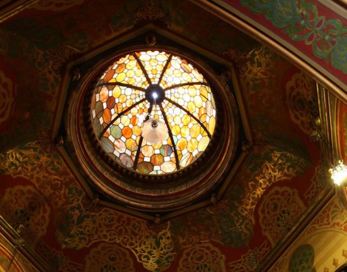 moorish alcove skylight