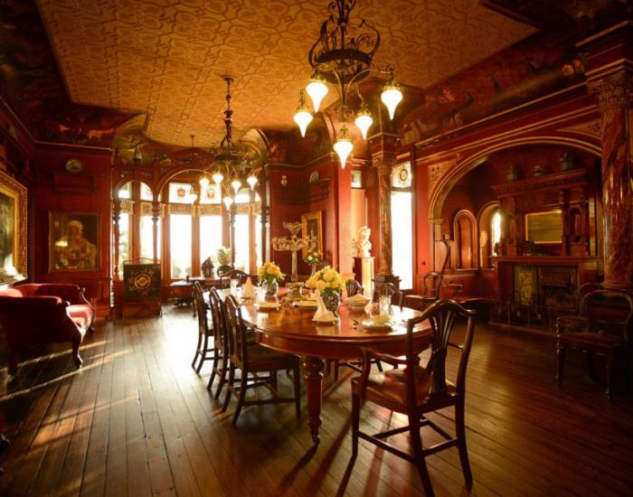 Dining room Dan Pringle