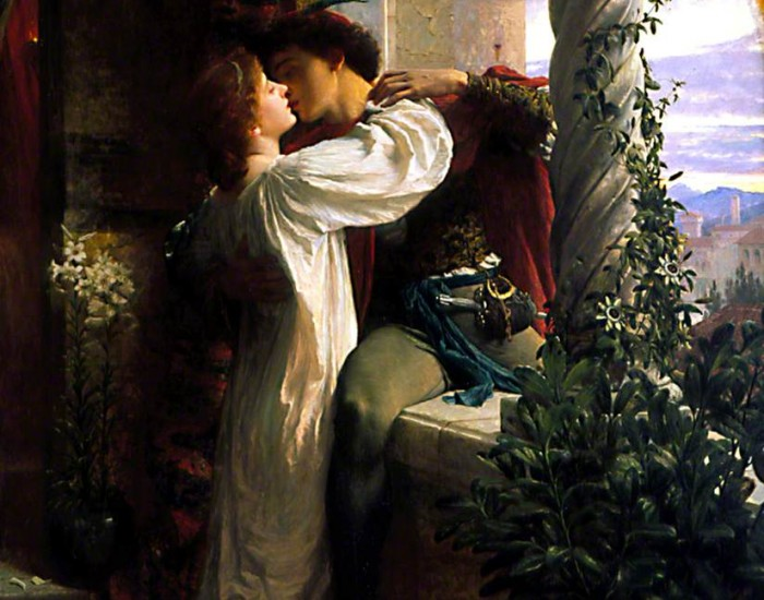 Dicksee, Frank, 1853-1928; Romeo and Juliet  ©Southampton City Art Gallery