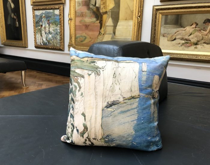 Cushion Chalk Gallery 1 sofa close up