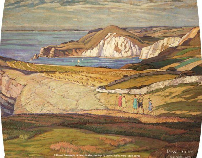 Cushion Proof Dorset Landscape