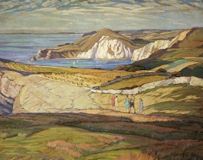 Ward, Philip Leslie Moffat; Near Worbarrow Bay, Dorset; Russell-Cotes Art Gallery & Museum; http://www.artuk.org/artworks/near-worbarrow-bay-dorset-58801