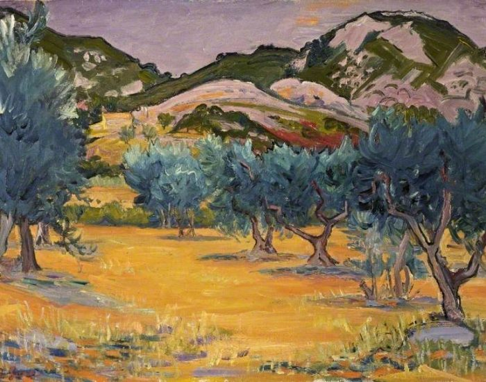 Gore, Frederick John Pym; In the Alpilles, near Les Baux, France; Russell-Cotes Art Gallery & Museum; http://www.artuk.org/artworks/in-the-alpilles-near-les-baux-france-58736
