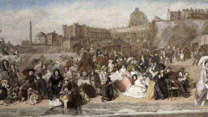 Frith, William Powell; Life at the Seaside; Russell-Cotes Art Gallery & Museum; http://www.artuk.org/artworks/life-at-the-seaside-58602
