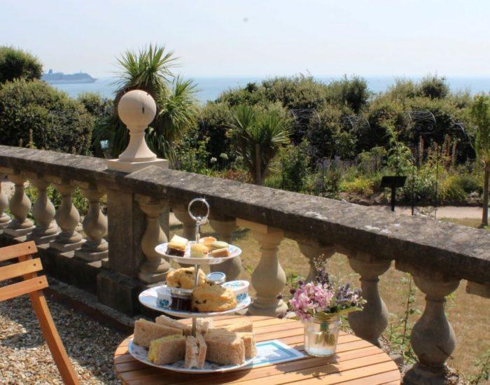 afternoon tea terrace
