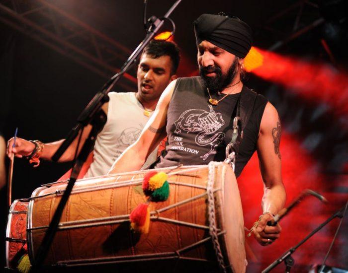 Johnny Kalsi Dhol drumming