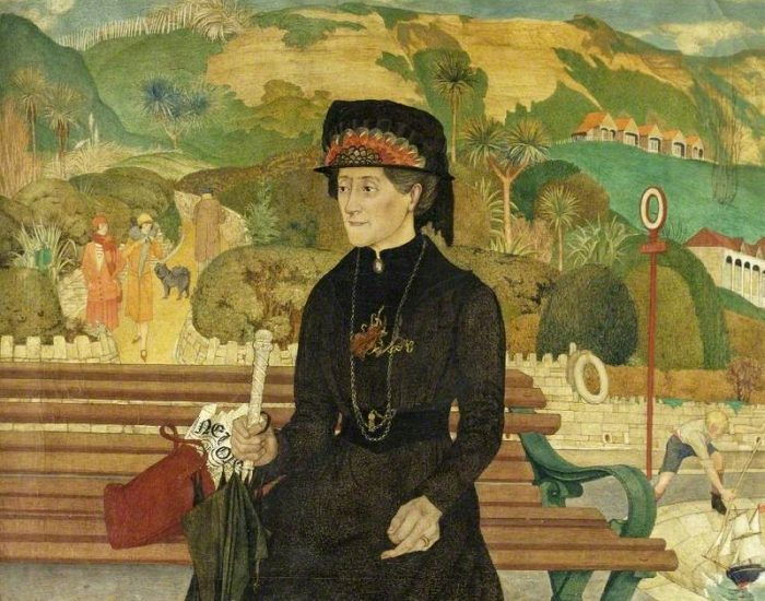 Armfield, Maxwell Ashby, c.1881 1972; Miss Chaseley on the Undercliff